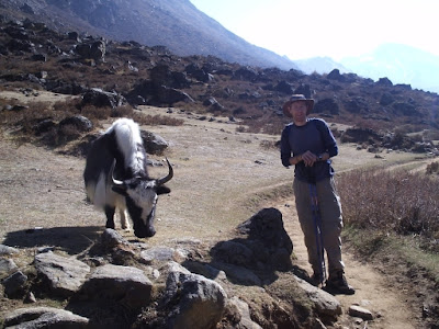 Paul and a yak