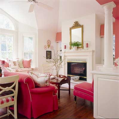 Design Interior Ideas on Villa Anna  It S The Time Of Year To Think Pink