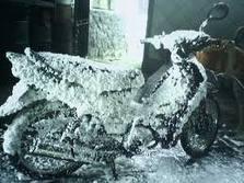 busa salju yg tidak turun