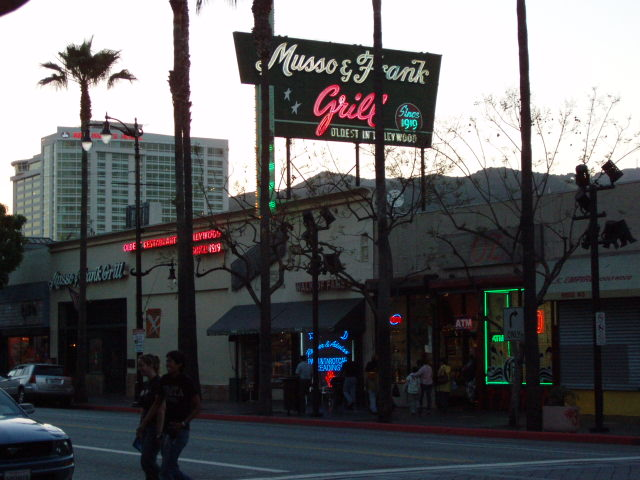 The ken p d snydecast experience a closer look musso and franks - Musso and frank grill hollywood ...