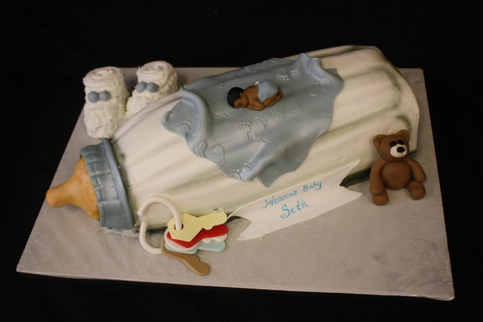 Baby Bottle Cake Images : Cakes by La Meeka: January 2011