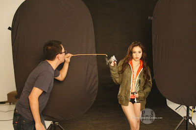 Cristine Reyes S Behind The Scenes Of Mintmen