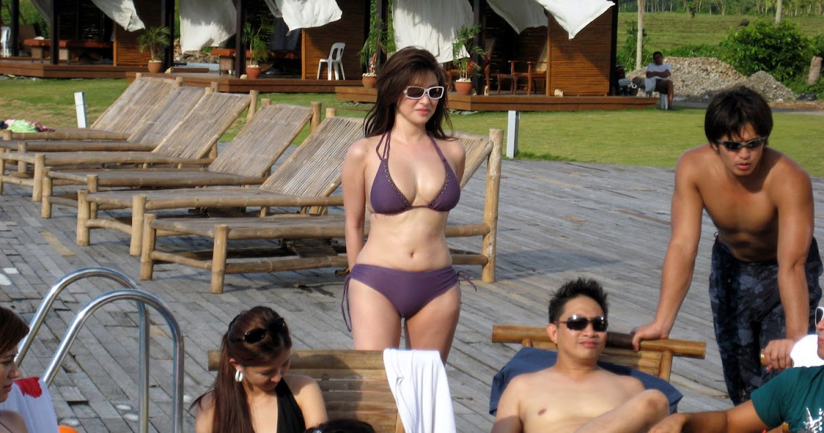 Congratulate, Rufa mae quinto in a thong bikini join. was
