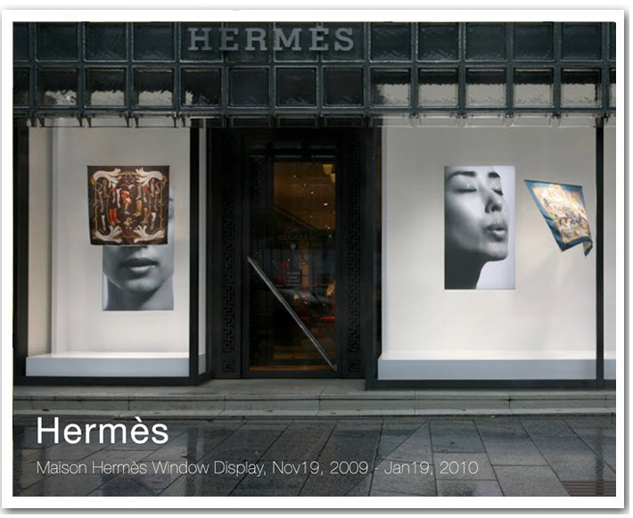 Secret dream world of a fashion muse maison hermes tokyo for Maison hermes