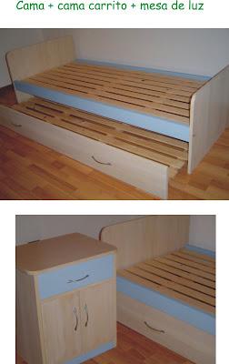 Muebles y objetos en madera para chicos y para la familia - Camas dobles para adultos ...
