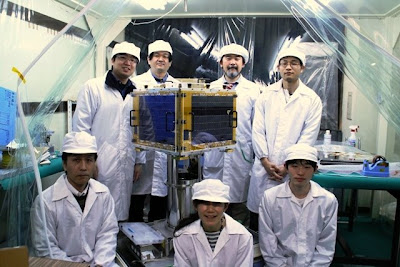 Spritesat Japanese satellite team