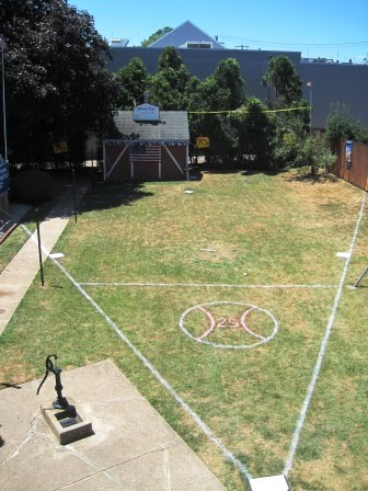 buzzings free to make a wiffle ball game as extravagant as we please