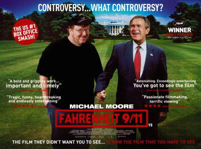fahrenheit 911 michael moore essay