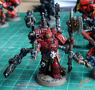 I Painted The Servo Harness First With All Metallics And Then Moved On To Armour Of Techmarine My Understanding Is That Techmarines Leave Their