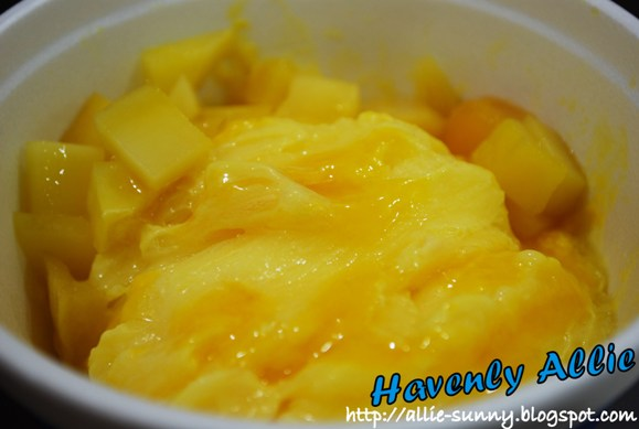 Mango Snow Ice 1