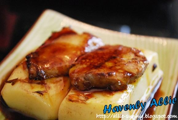 Foie Gras with Tofu 1