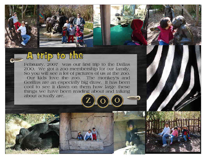 Dallas Zoo, where the twins found their fasination with monkeys.