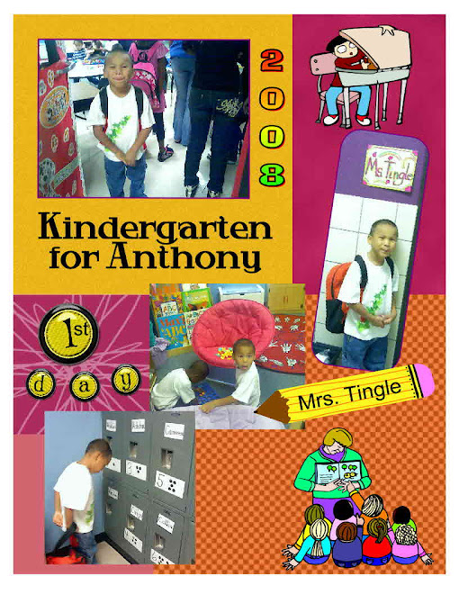 Kindergarten for Anthony