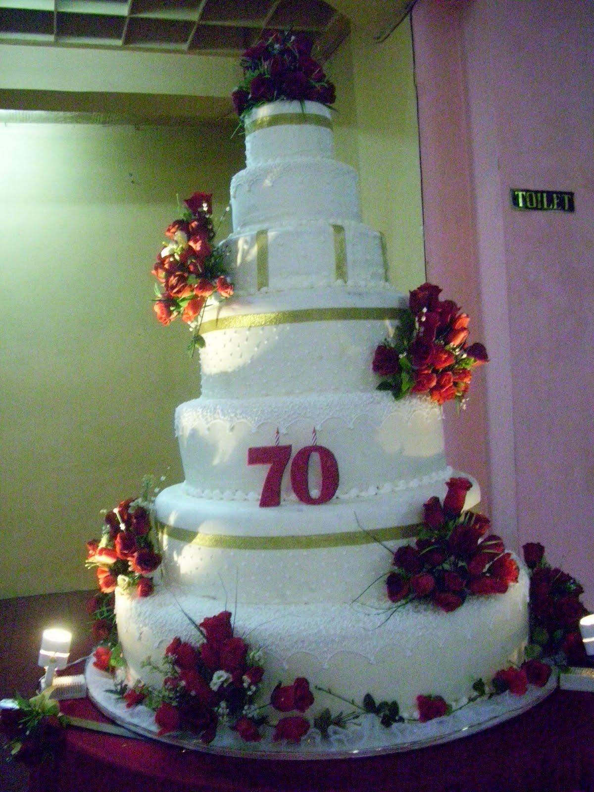 kue ulang tahun untuk seorang bapak usia 70