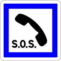 Telephone d'urgence SAMU SOS