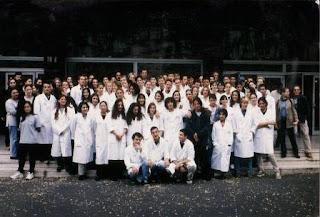 Photo de classe d'une faculté de medecine
