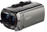 Caméra 3D de Sonny au CES 2011 à Las Veags