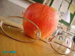 蘋果、眼鏡