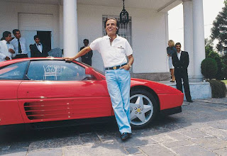 Tamerlane S Thoughts Carlos Menem S Ferrari 348 Tb