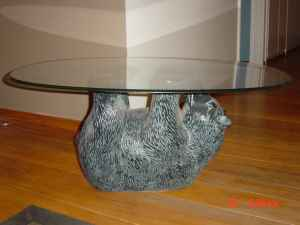 For Every Guy Making An Engine Block Coffee Table, There Are Two People  Selling Their Bear Cub Coffee Table.