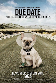 Get that dog out of my face or I'll rip it in half. - Due Date