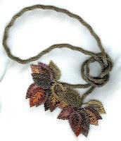 Leaf Lariat ©2006, Theresa Buchle