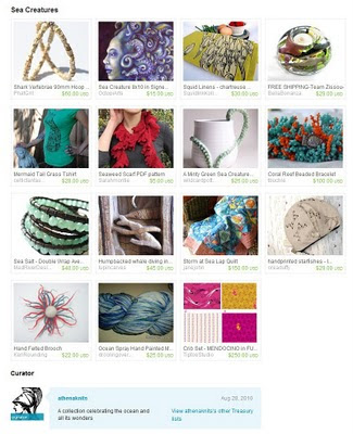 Sea Creatures Treasury
