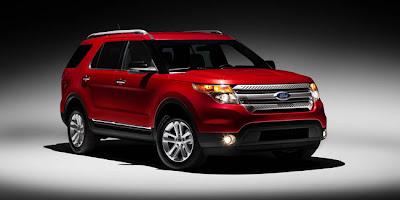 New Ford Explorer