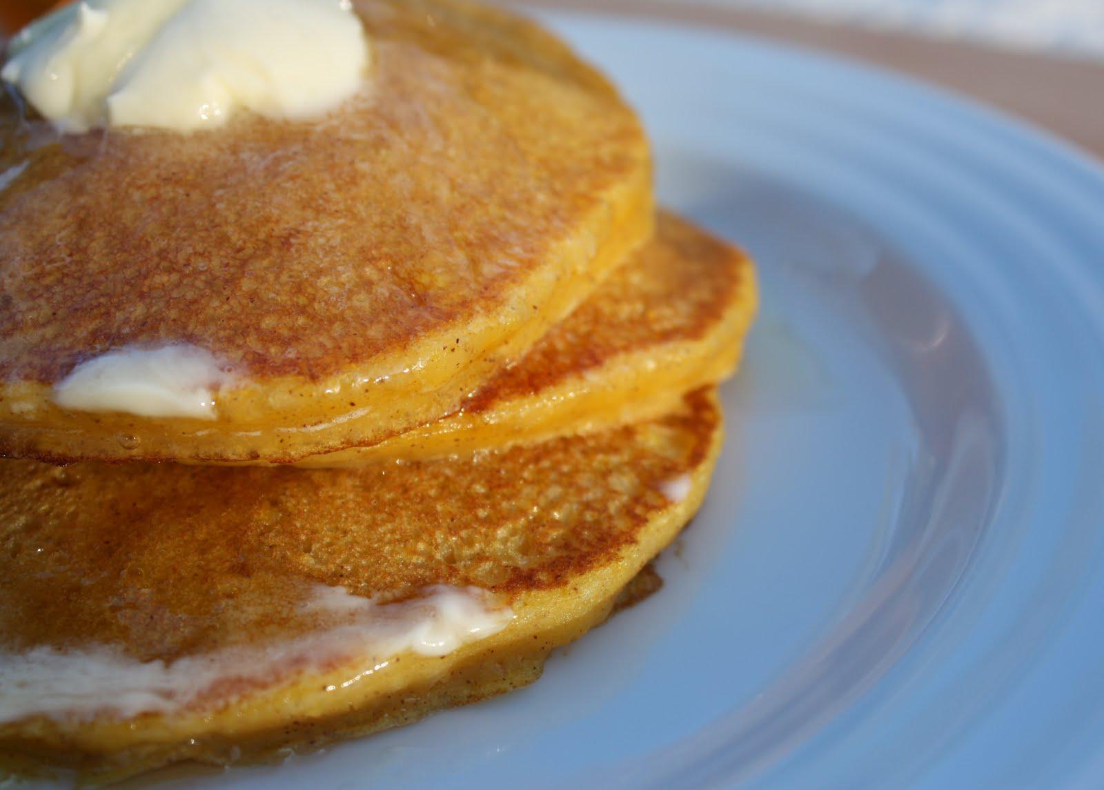 lil fish studios: Butternut Squash Pancakes