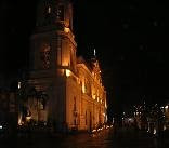 Cebu Cathedral Church at Night
