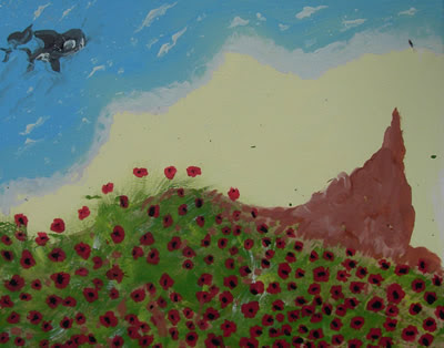 Killer Whales and Poppy Fields
