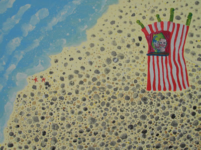 Punch and Judy on the beach