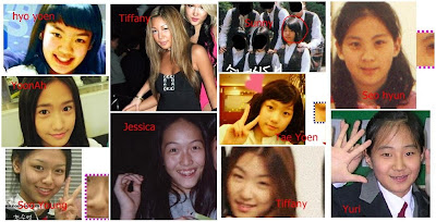 Girls' Generation Before and After Surgery