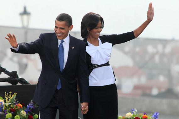 Obama v Česku