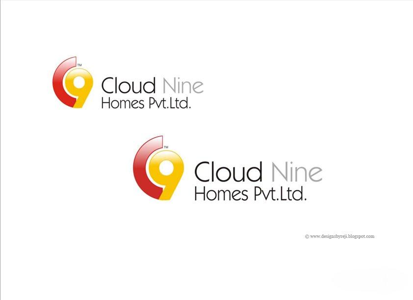 Creative Showcase: Logo Design - Cloud Nine Homes