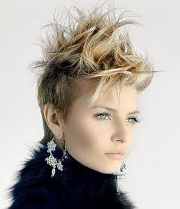 Edgy Short Hair Styles