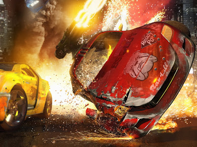 Games Animasi 3D Death Track Resurrection, Car 3D,Wallpaper4xp,