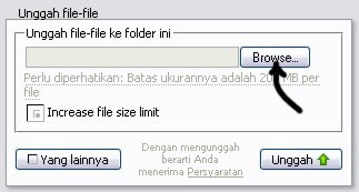 upload file SWF di 4shared