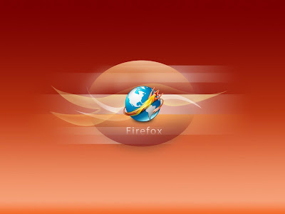 Firefox Orange Desktop Wallpaper