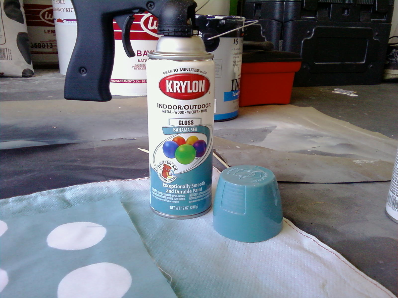 Levitra Couches Spray Paint