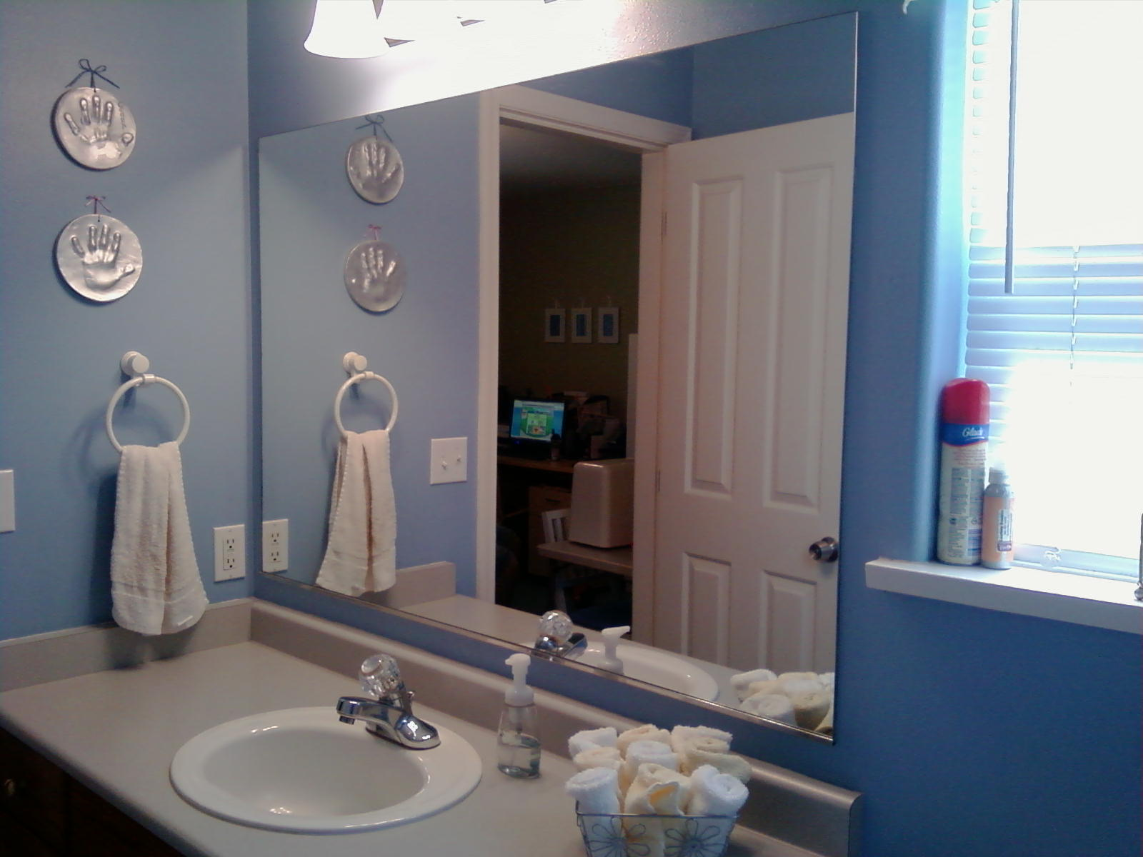 custom bathroom frames img mirror