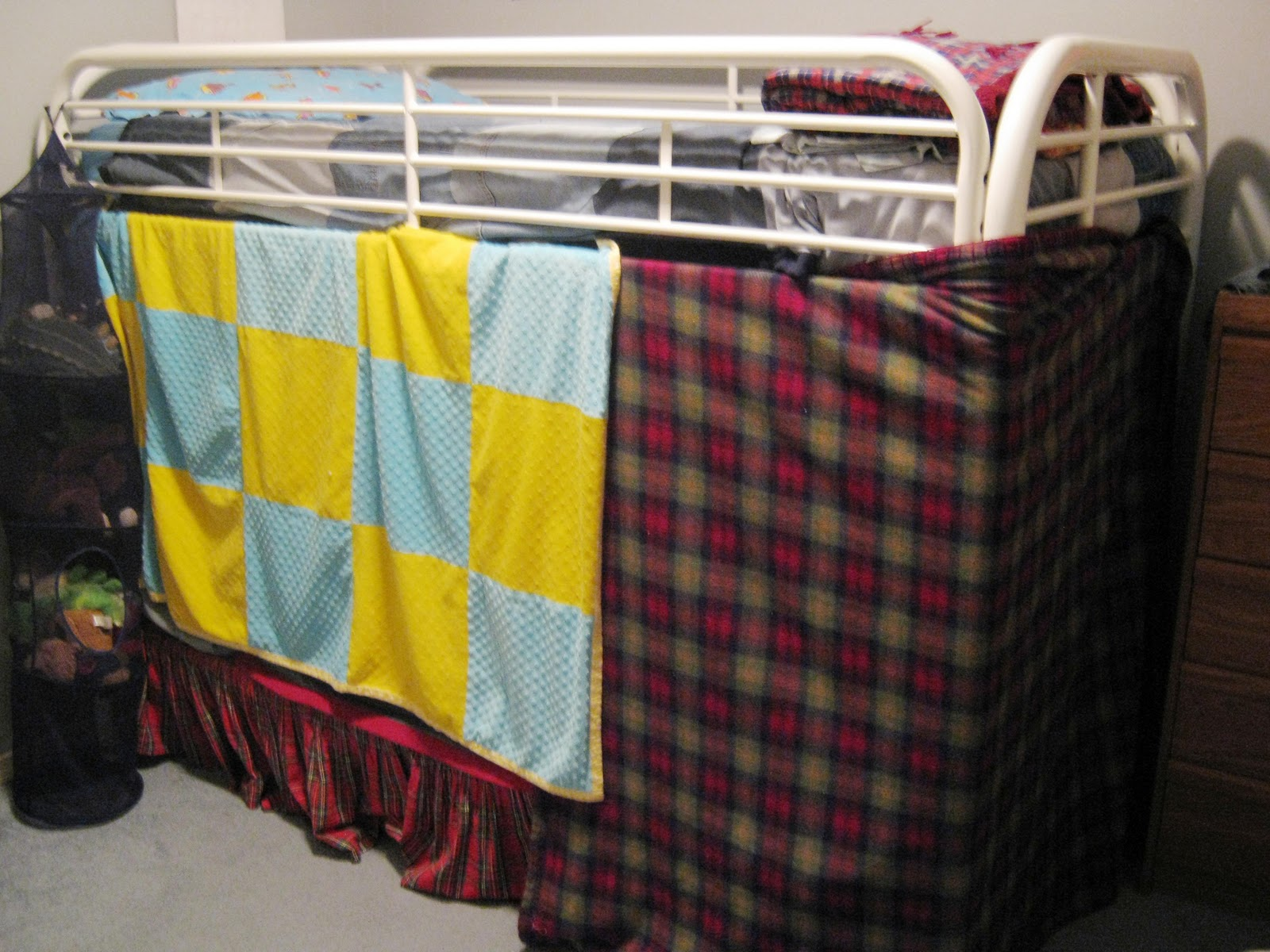 This Thrifty House Bunk Bed Tent