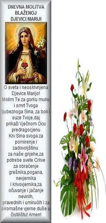 Molitva Mariji!