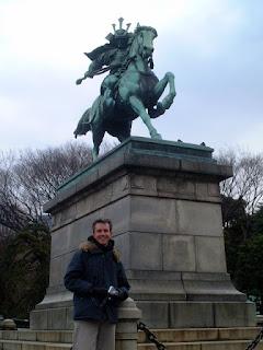 Kusunoki Masashige in Tokyo Imperial Palace Gardens