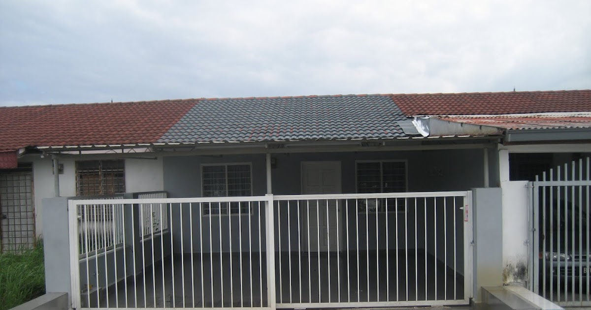 Terrace house shah alam 1 storey terrace section 20 for Terrace house 1