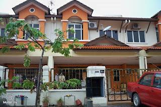 terrace house shah alam 2 storey terrace taman mutiara