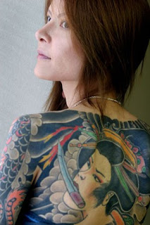 Yakuza Tattoo Girl