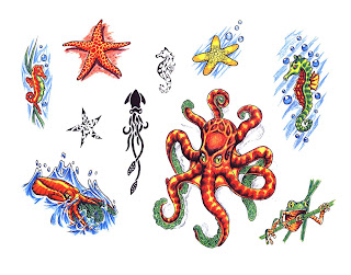 starfish tattoo design image gallery