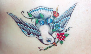 Bird tatto design for body