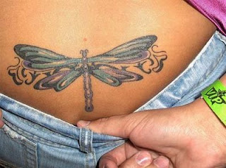 dragonfly tattoo for female